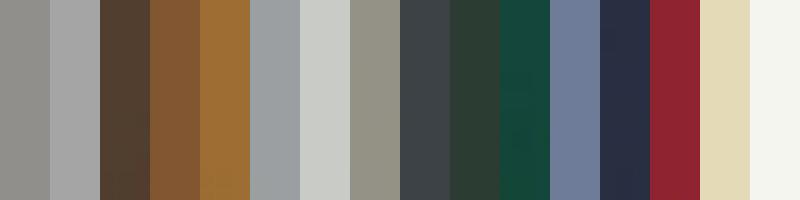 16 standartinių spalvų už tą pačią kainą